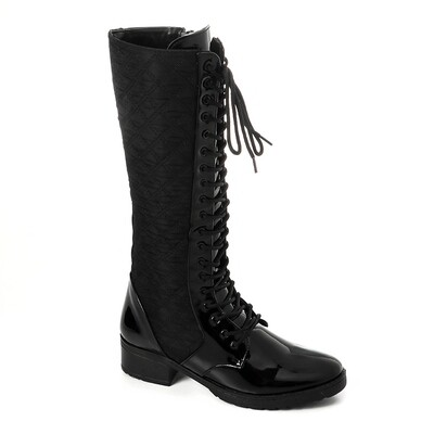 3422High Boot - Black V