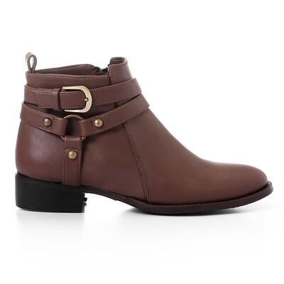 3426 Half Boot - Brown