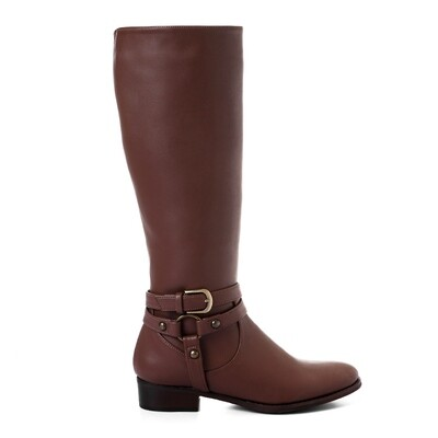 3427 -Leathe Boot - Brown