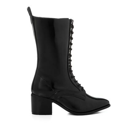3425 Half Boot - Black V