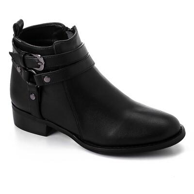 3426 Half Boot - Black