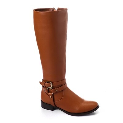 3427 -Leathe Boot - Havan