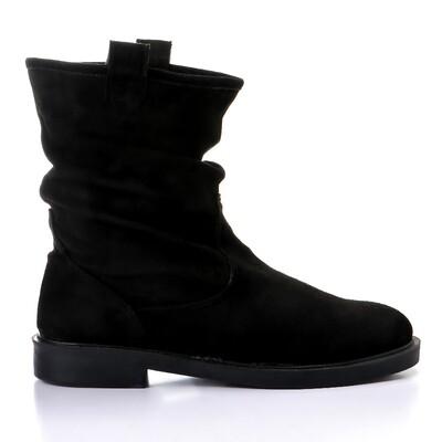 3432 Half Boot - Black SU