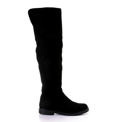 3436 High Boot  - Black su