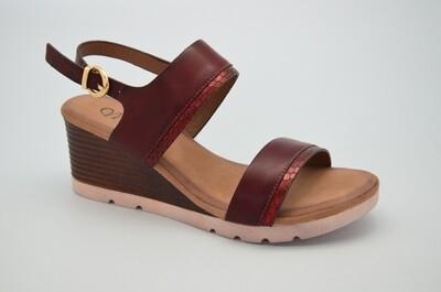 3100 Sandal - Burgundy