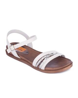 3115 Sandal - Whit*Silver
