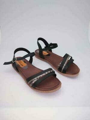 3115 Sandal - Black*Gray