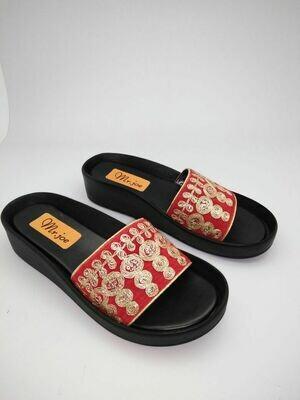 3125 Slipper -  Red