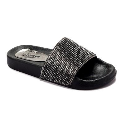 3233 Slipper -  Dark Gray