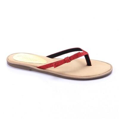 3243 Slipper - Red