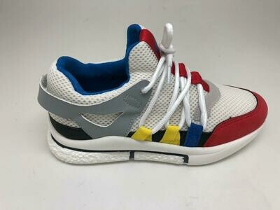 3445 Casual Shoes Kids - White*Navy
