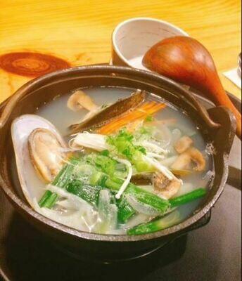 Mussel Soup 홍합탕