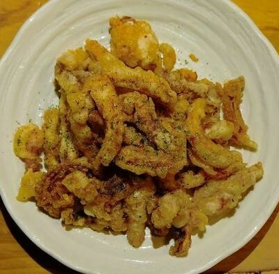 Deep Fried Squid 오징어튀김