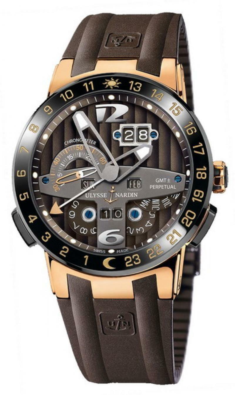 Ulysse Nardin  Perpetual Calendar El Toro GMT 322-00-3