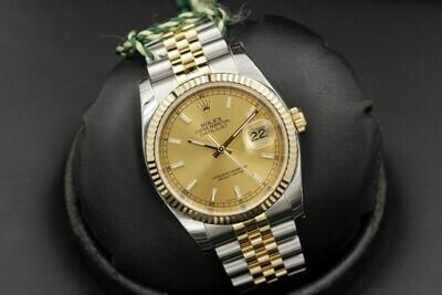 Наручные часы Rolex Oyster Datejust 36mm Steel and Yellow Gold