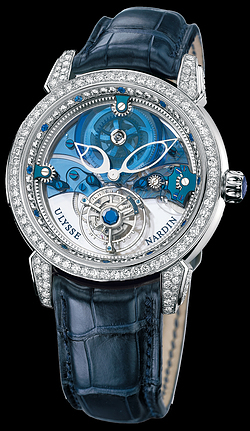 Ulysse Nardin  Royal Blue Tourbillon 41 мм 799-83