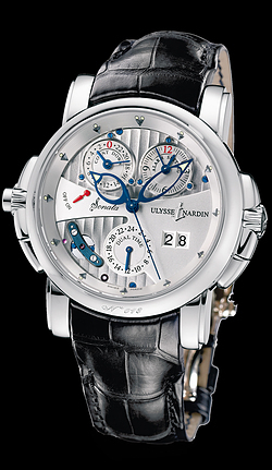 Ulysse Nardin  Sonata Cathedral Dual Time 670-88