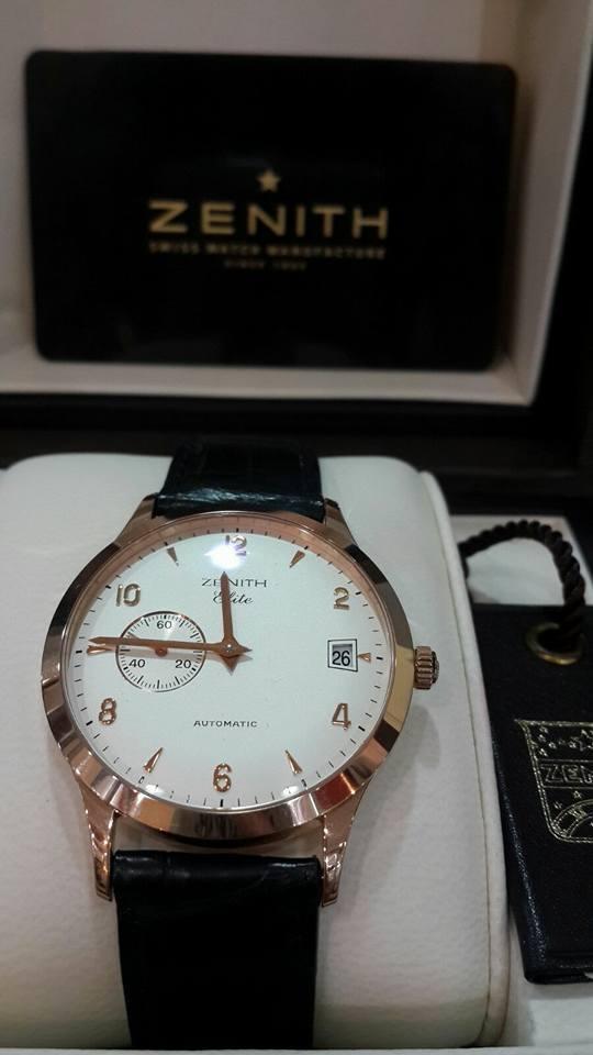 ZENITH Class Elite Men's Automatic 18K Rose Gold Watch 17-0125-680/01
