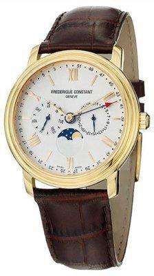 Frederique Constant Persuasion Quartz Business Timer FC-270SW4P5