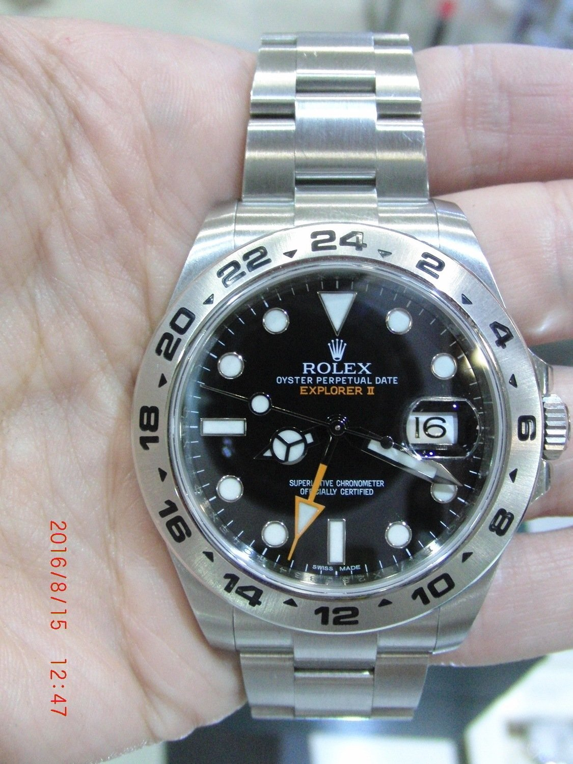Rolex Explorer II 42mm Steel 216570