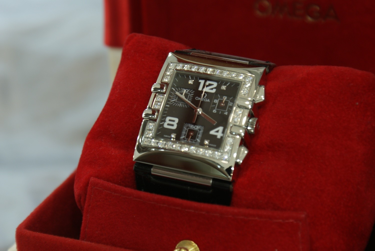 OMEGA Constellation Quadra Quartz Chronograph 1847.55.11