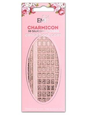 Charmicon 3D Silicone Stickers #75 Swirl
