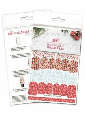 Naildress Slider Design #27 Christmas Print