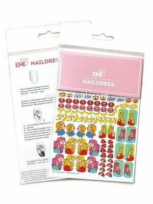 Naildress Slider Design #3 Pop Art