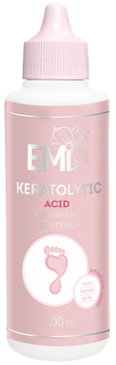 Acid-Based Keratolytic – Rough Skin Softener based on acids: citric, tartaric and lactic, 100 ml