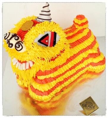 Lion Dance Cake