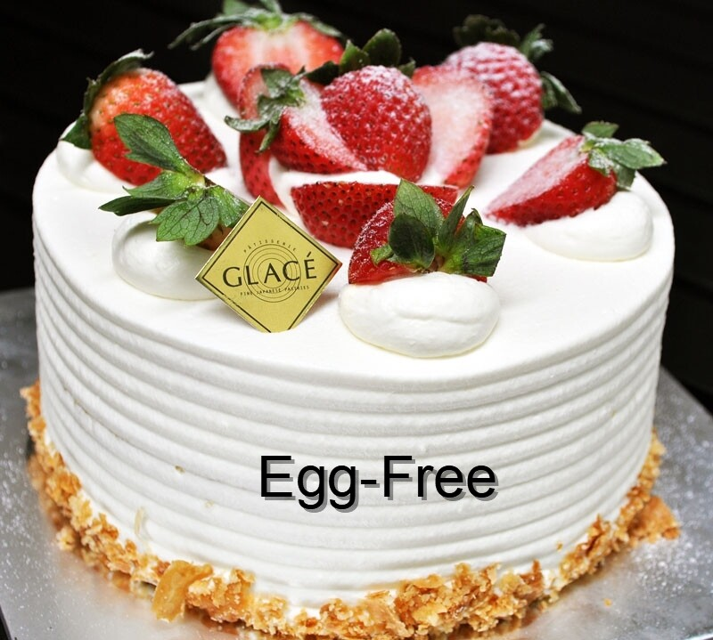 Egg-Free Strawberry Décor