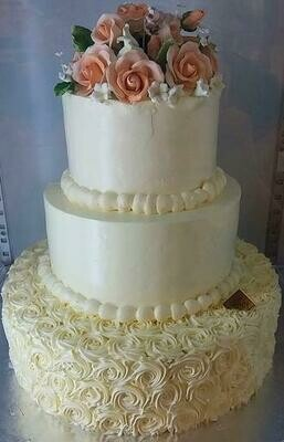 3-Tier Wedding Decor