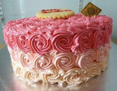 Twirly Rose Multi-Colour