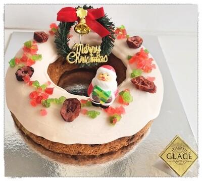 Christmas Wreath Butter Cake