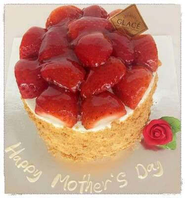 Mother's Day Strawberry Souffle
