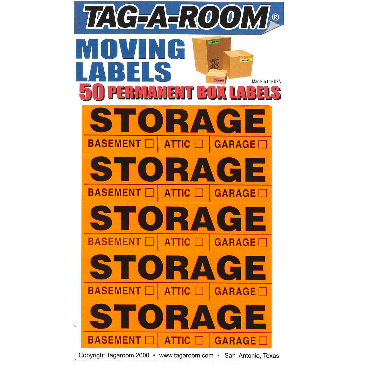 Storage Labels - 50 Count 1401016-50
