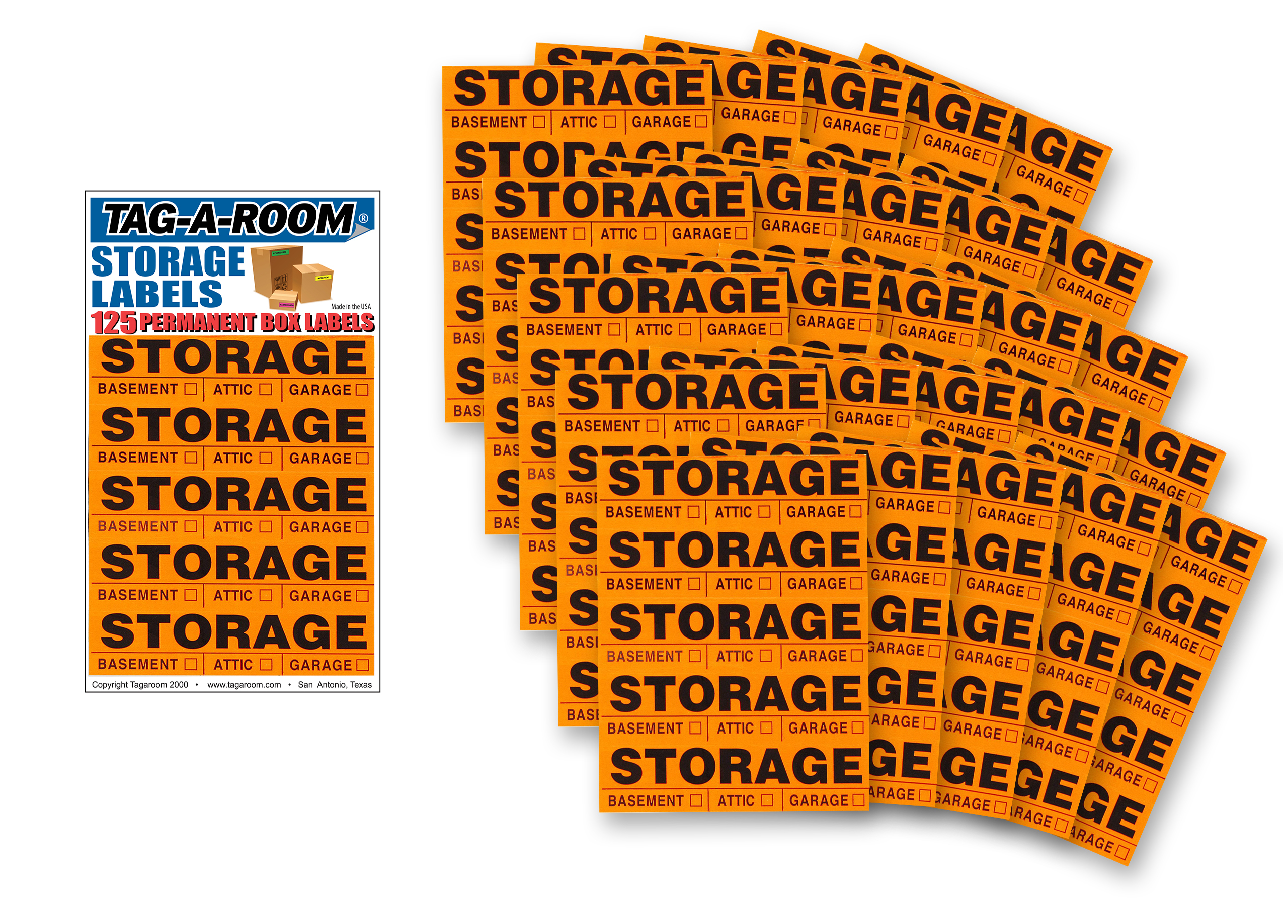Storage Labels - 125 Count