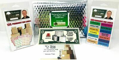 Custom Branded - Label Combo Pack (25 Kits @ $12.99 each)