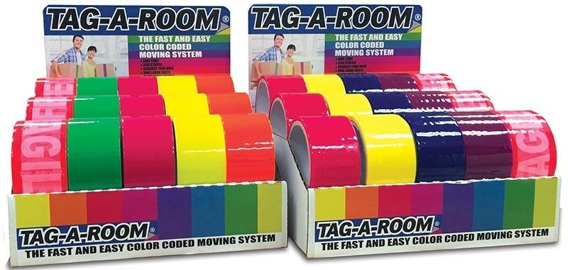 Tag-A-Room Tape Display Kit