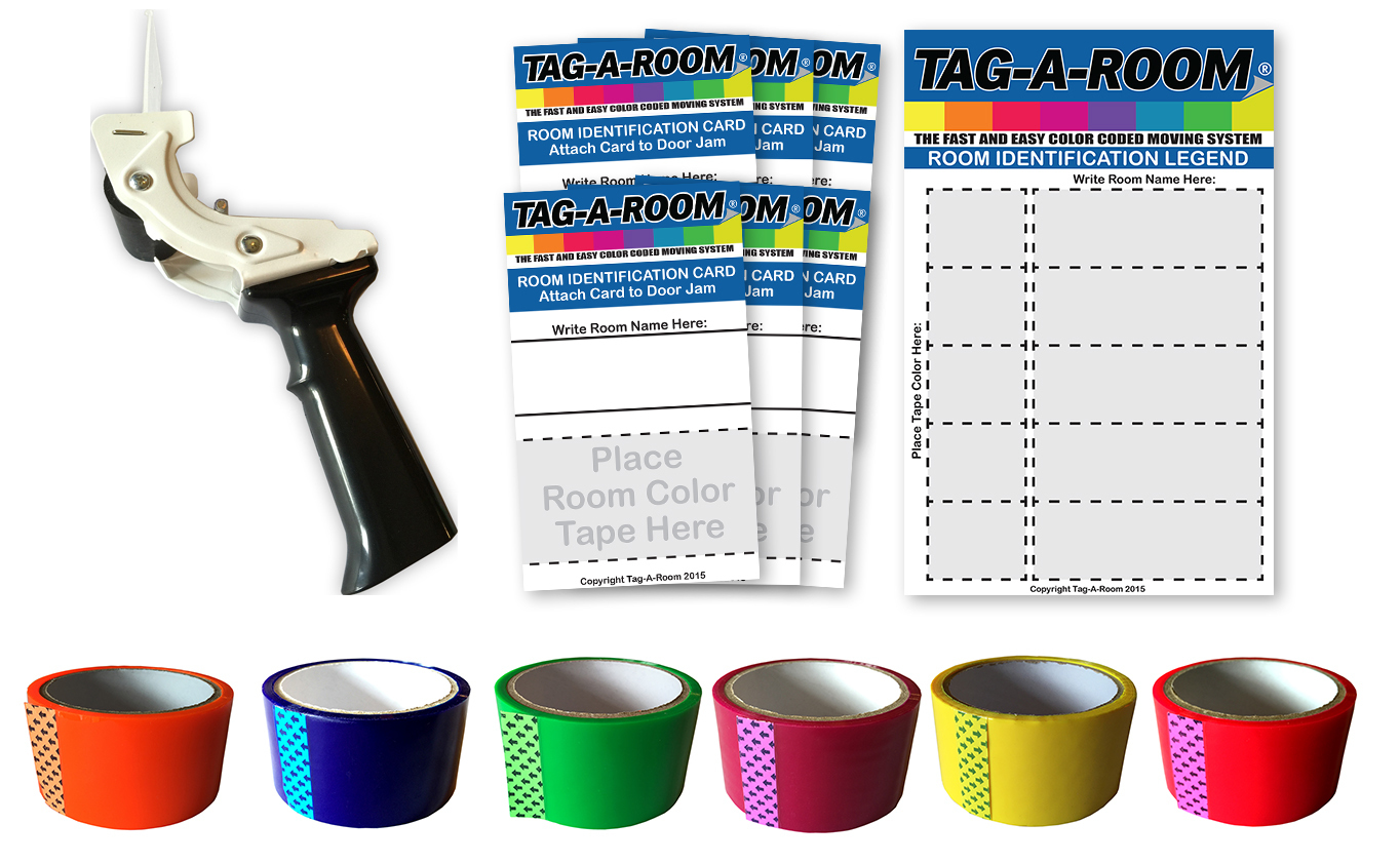 Tagaroom Move By Color System (Kit 1) 310022