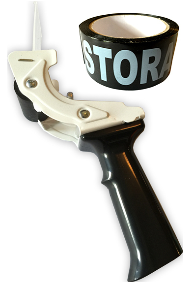 Tag-A-Room® Tape-Gun (Tape Dispenser) with Fragile Tape