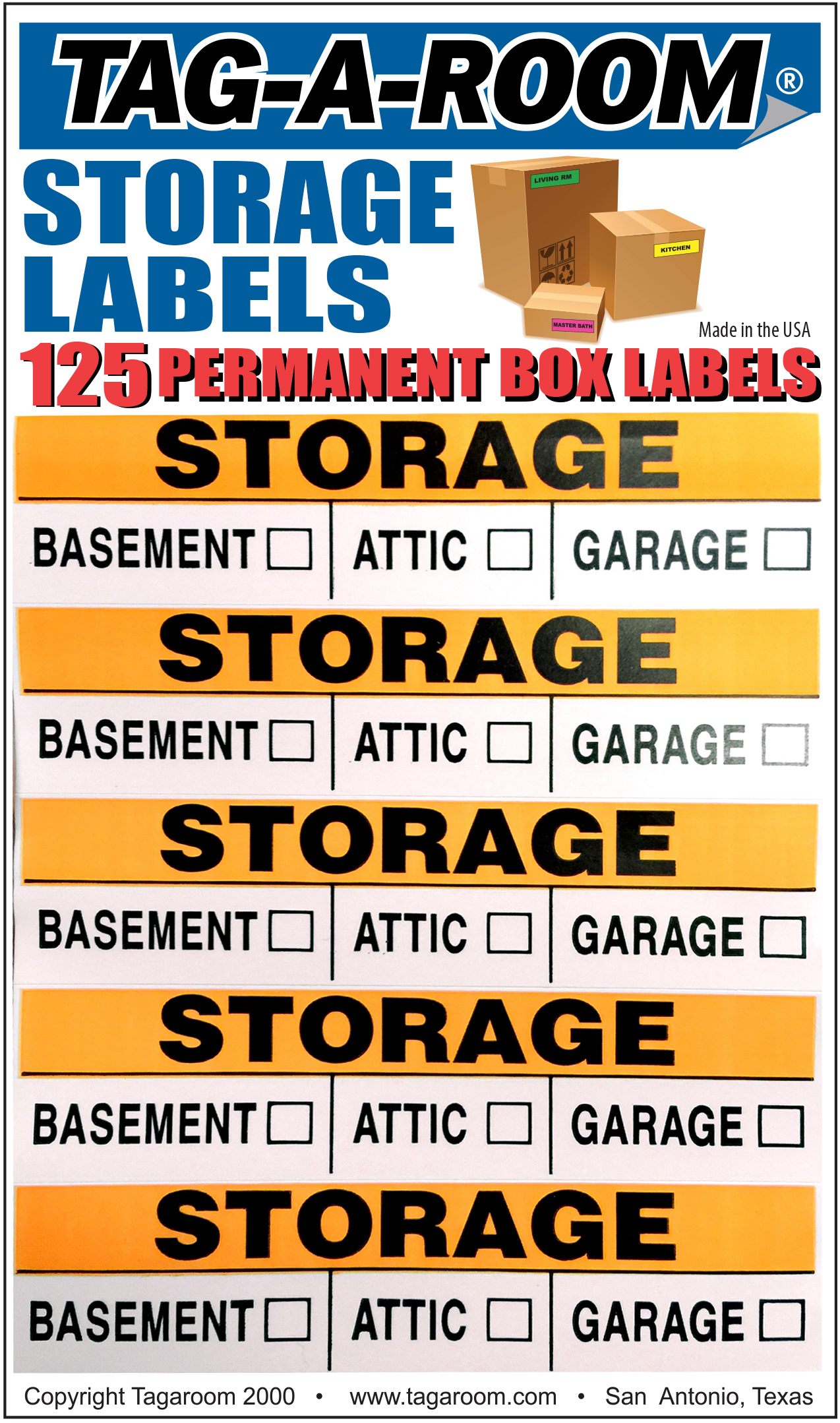 Storage Labels - 125 Count 1401016