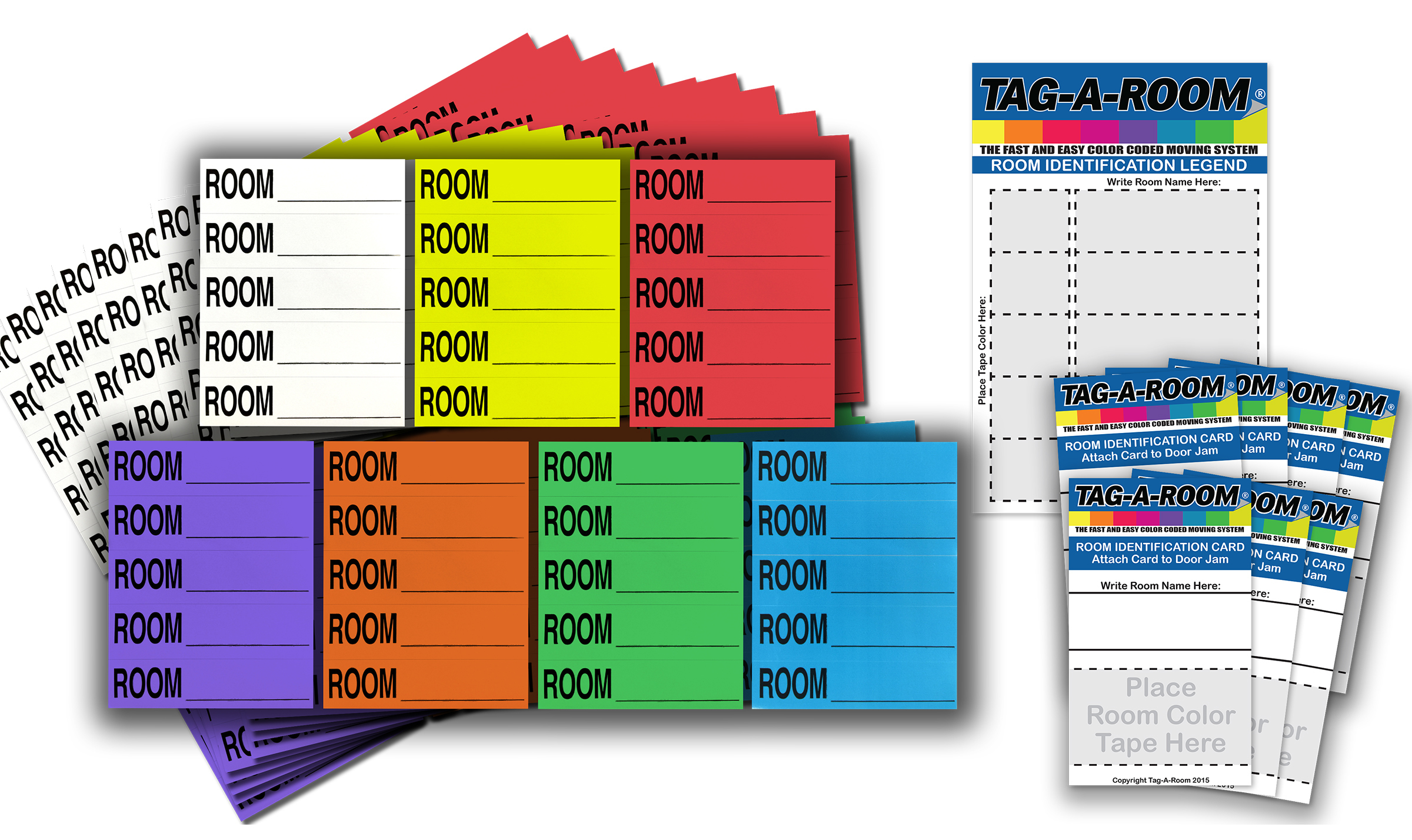 Move By Color Labeling System 350 Count 010020