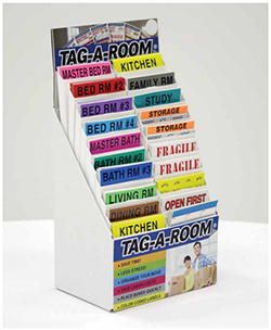 Tag-A-Room Display Kit