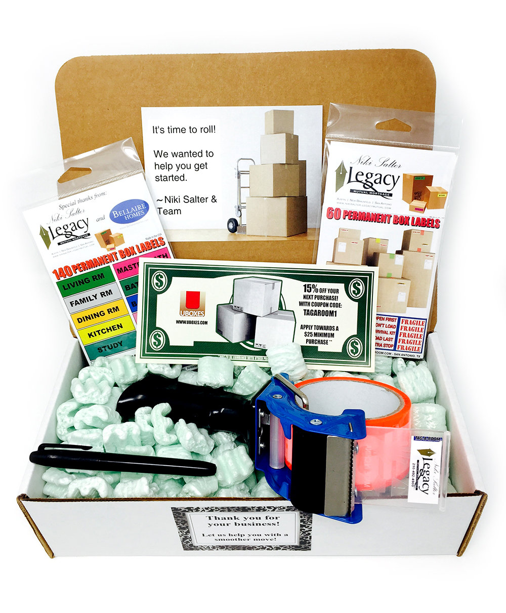 Custom Branded - Gift Kits Delivered to You (10 Kits @ $27.95 each)