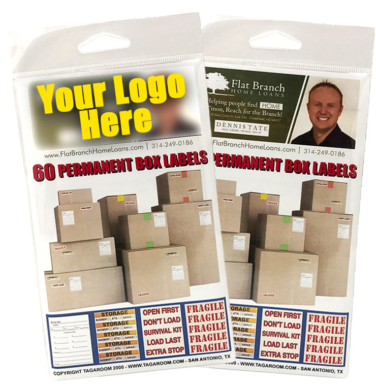 Custom Branded - Content Box Labels