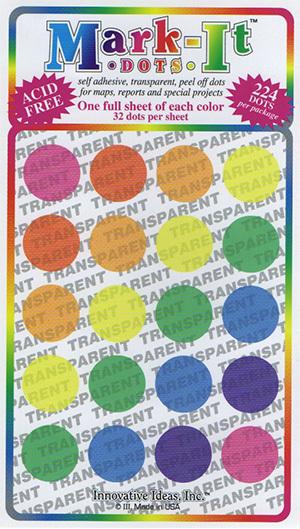 Big Dots - Transparent 151