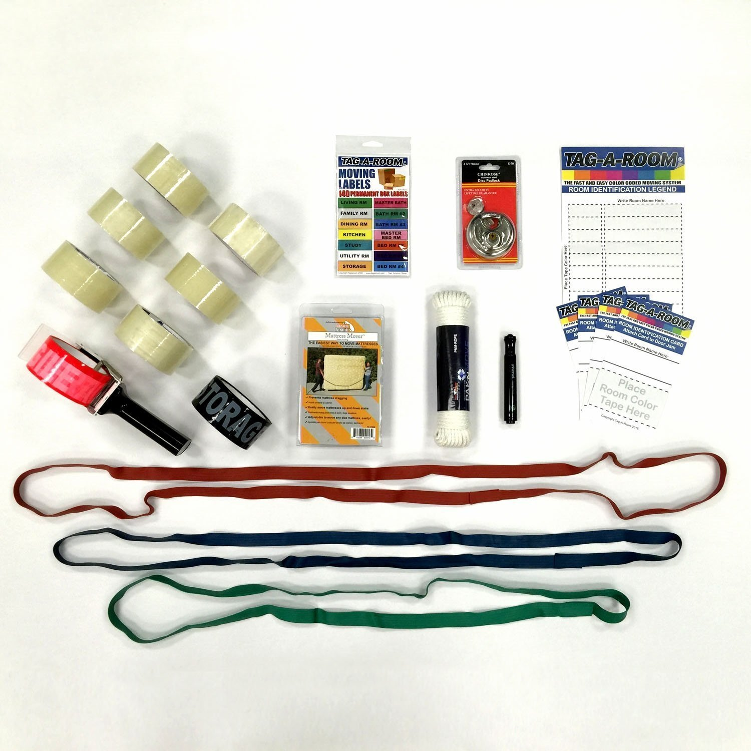 "Moving Supplies ""Do It Yourself"" Moving Kit Bundle 017036"