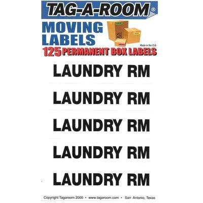 Laundry Labels - 125 Count