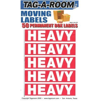Heavy Labels - 50 Count